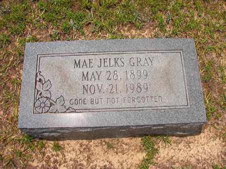JELKS GRAY, MAE - Calhoun County, Arkansas | MAE JELKS GRAY - Arkansas Gravestone Photos