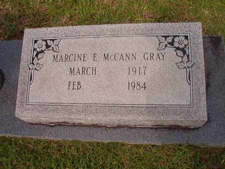 GRAY, MARCINE E - Calhoun County, Arkansas | MARCINE E GRAY - Arkansas Gravestone Photos