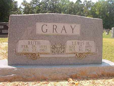GRAY, RUTH - Calhoun County, Arkansas | RUTH GRAY - Arkansas Gravestone Photos