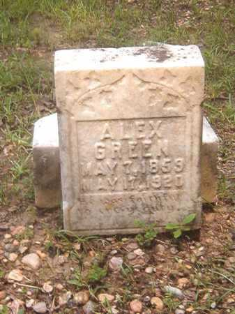 GREEN, ALEX - Calhoun County, Arkansas | ALEX GREEN - Arkansas Gravestone Photos