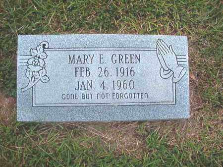 GREEN, MARY E - Calhoun County, Arkansas | MARY E GREEN - Arkansas Gravestone Photos