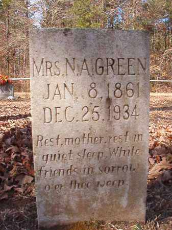 GREEN, N A - Calhoun County, Arkansas | N A GREEN - Arkansas Gravestone Photos
