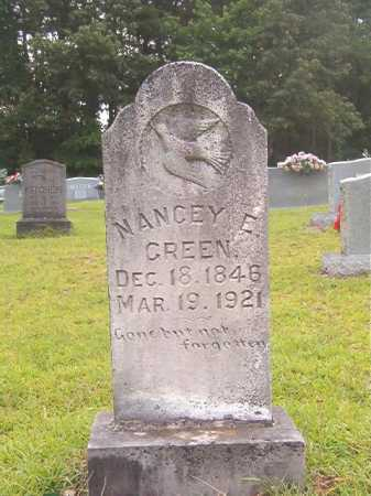 GREEN, NANCEY E - Calhoun County, Arkansas | NANCEY E GREEN - Arkansas Gravestone Photos