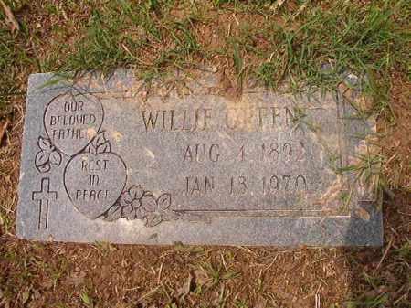 GREEN, WILLIE - Calhoun County, Arkansas | WILLIE GREEN - Arkansas Gravestone Photos