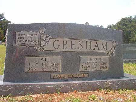 GRESHAM, J WILL - Calhoun County, Arkansas | J WILL GRESHAM - Arkansas Gravestone Photos