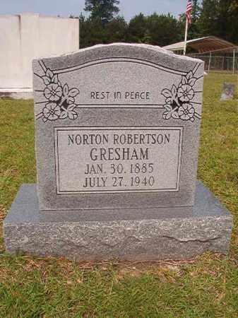 GRESHAM, NORTON ROBERTSON - Calhoun County, Arkansas | NORTON ROBERTSON GRESHAM - Arkansas Gravestone Photos