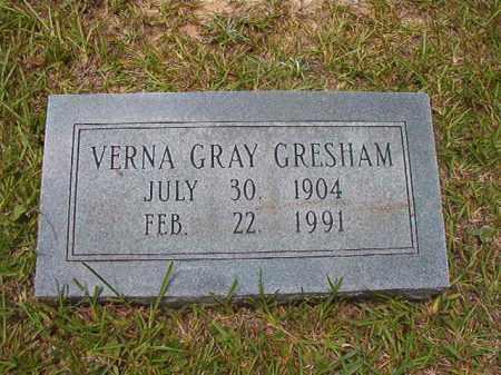 GRAY GRESHAM, VERNA - Calhoun County, Arkansas | VERNA GRAY GRESHAM - Arkansas Gravestone Photos