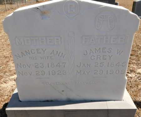 GREY, JAMES W - Calhoun County, Arkansas | JAMES W GREY - Arkansas Gravestone Photos