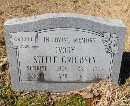 GRIGBSEY, IVORY - Calhoun County, Arkansas | IVORY GRIGBSEY - Arkansas Gravestone Photos