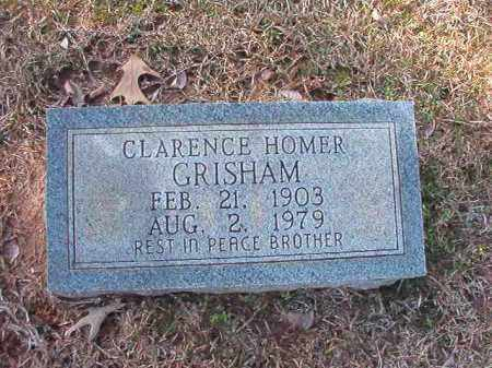 GRISHAM, CLARENCE HOMER - Calhoun County, Arkansas | CLARENCE HOMER GRISHAM - Arkansas Gravestone Photos