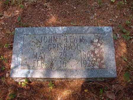 GRISHAM, JOHN LEWIS - Calhoun County, Arkansas | JOHN LEWIS GRISHAM - Arkansas Gravestone Photos