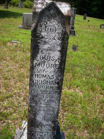 MOORE GRISHAM, LOUISA - Calhoun County, Arkansas | LOUISA MOORE GRISHAM - Arkansas Gravestone Photos