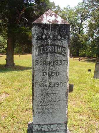 GROOMS, J T - Calhoun County, Arkansas | J T GROOMS - Arkansas Gravestone Photos