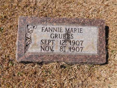GRUBBS, FANNIE MARIE - Calhoun County, Arkansas | FANNIE MARIE GRUBBS - Arkansas Gravestone Photos