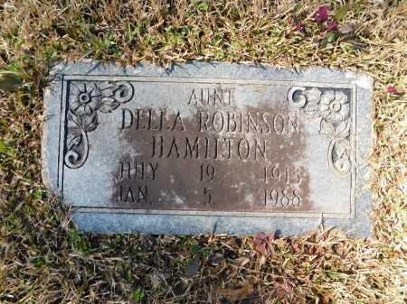 ROBINSON HAMILTON, DELLA - Calhoun County, Arkansas | DELLA ROBINSON HAMILTON - Arkansas Gravestone Photos