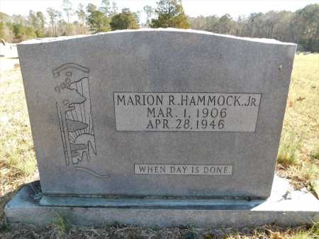HAMMOCK, JR, MARION R - Calhoun County, Arkansas | MARION R HAMMOCK, JR - Arkansas Gravestone Photos