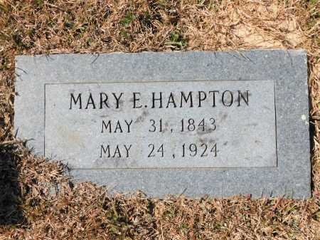 HAMPTON, MARY E - Calhoun County, Arkansas | MARY E HAMPTON - Arkansas Gravestone Photos