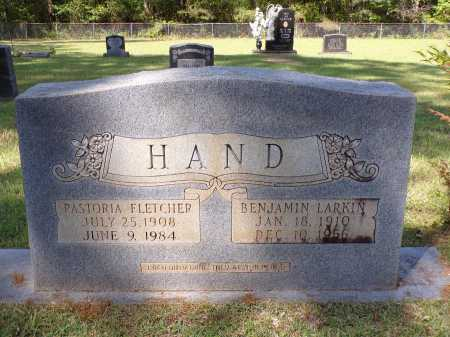 FLETCHER HAND, PASTORIA - Calhoun County, Arkansas | PASTORIA FLETCHER HAND - Arkansas Gravestone Photos