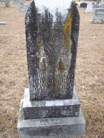 HANNEGAN, ANNIE - Calhoun County, Arkansas | ANNIE HANNEGAN - Arkansas Gravestone Photos