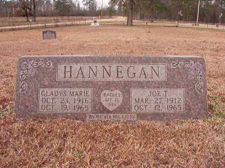 HANNEGAN, JOE T - Calhoun County, Arkansas | JOE T HANNEGAN - Arkansas Gravestone Photos