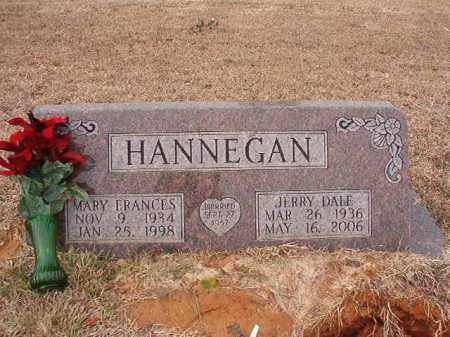 HANNEGAN, MARY FRANCES - Calhoun County, Arkansas | MARY FRANCES HANNEGAN - Arkansas Gravestone Photos