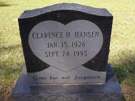 HANSEN, CLARENCE H - Calhoun County, Arkansas | CLARENCE H HANSEN - Arkansas Gravestone Photos