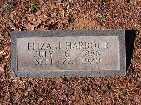 HARBOUR, ELIZA J - Calhoun County, Arkansas | ELIZA J HARBOUR - Arkansas Gravestone Photos