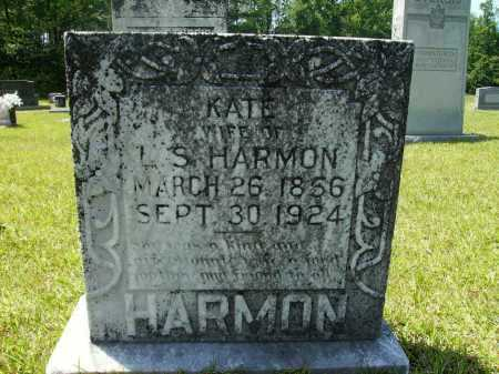 HARMON, KATE - Calhoun County, Arkansas | KATE HARMON - Arkansas Gravestone Photos