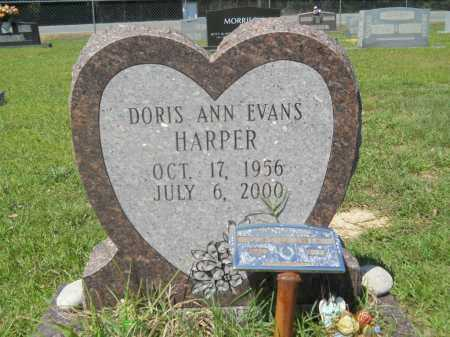 HARPER, DORIS ANN - Calhoun County, Arkansas | DORIS ANN HARPER - Arkansas Gravestone Photos