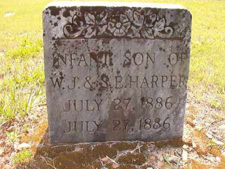 HARPER, INFANT SON - Calhoun County, Arkansas | INFANT SON HARPER - Arkansas Gravestone Photos