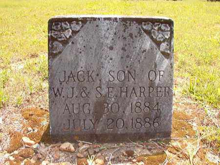HARPER, JACK - Calhoun County, Arkansas | JACK HARPER - Arkansas Gravestone Photos