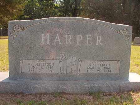 HARPER, S. ELIZABETH - Calhoun County, Arkansas | S. ELIZABETH HARPER - Arkansas Gravestone Photos