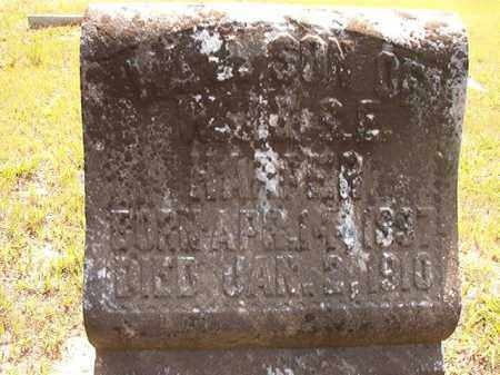 HARPER, W J - Calhoun County, Arkansas | W J HARPER - Arkansas Gravestone Photos