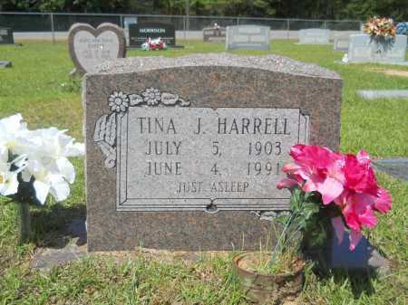 HARRELL, TINA J - Calhoun County, Arkansas | TINA J HARRELL - Arkansas Gravestone Photos
