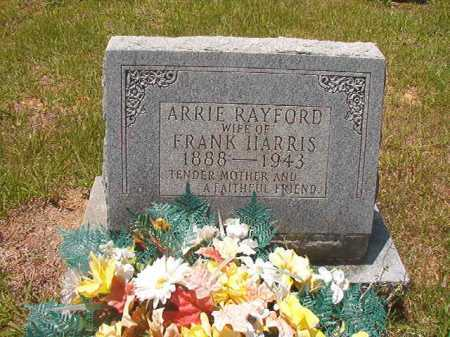 RAYFORD HARRIS, ARRIE - Calhoun County, Arkansas | ARRIE RAYFORD HARRIS - Arkansas Gravestone Photos