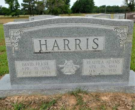 ADAMS HARRIS, REATHEA - Calhoun County, Arkansas | REATHEA ADAMS HARRIS - Arkansas Gravestone Photos
