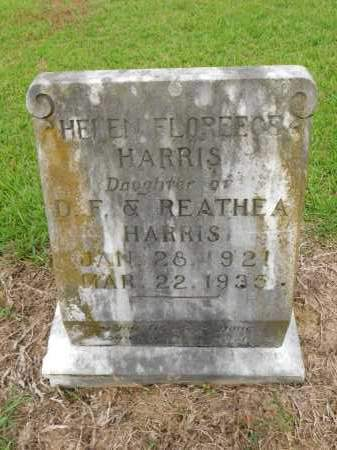 HARRIS, HELEN FLOREECE - Calhoun County, Arkansas | HELEN FLOREECE HARRIS - Arkansas Gravestone Photos