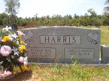 HARRIS, JAMES EARMON - Calhoun County, Arkansas | JAMES EARMON HARRIS - Arkansas Gravestone Photos