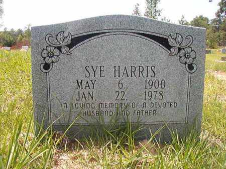 HARRIS, SYE - Calhoun County, Arkansas | SYE HARRIS - Arkansas Gravestone Photos