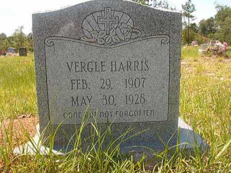 HARRIS, VERGLE - Calhoun County, Arkansas | VERGLE HARRIS - Arkansas Gravestone Photos