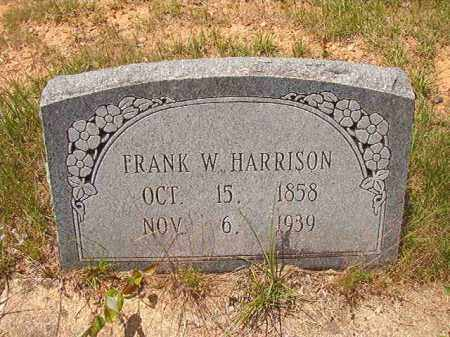 HARRISON, FRANK W - Calhoun County, Arkansas | FRANK W HARRISON - Arkansas Gravestone Photos