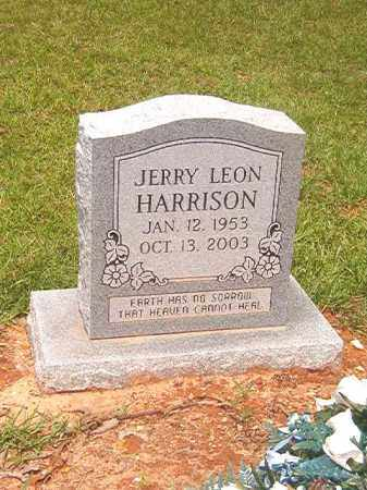 HARRISON, JERRY LEON - Calhoun County, Arkansas | JERRY LEON HARRISON - Arkansas Gravestone Photos