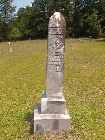 HATHCOCK, A S - Calhoun County, Arkansas | A S HATHCOCK - Arkansas Gravestone Photos