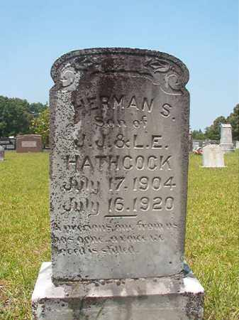 HATHCOCK, HERMAN S - Calhoun County, Arkansas | HERMAN S HATHCOCK - Arkansas Gravestone Photos