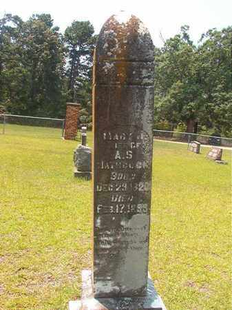 HATHCOCK, MARY J - Calhoun County, Arkansas | MARY J HATHCOCK - Arkansas Gravestone Photos