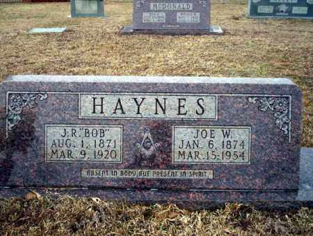 HAYNES, JOE W - Calhoun County, Arkansas | JOE W HAYNES - Arkansas Gravestone Photos