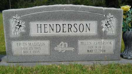 HENDERSON, ERVIN MADISON - Calhoun County, Arkansas | ERVIN MADISON HENDERSON - Arkansas Gravestone Photos
