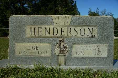 HENDERSON, LILLIAN - Calhoun County, Arkansas | LILLIAN HENDERSON - Arkansas Gravestone Photos