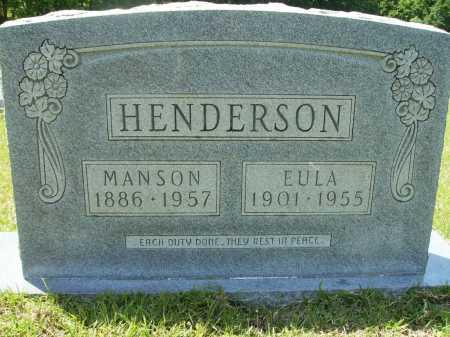 HENDERSON, EULA - Calhoun County, Arkansas | EULA HENDERSON - Arkansas Gravestone Photos