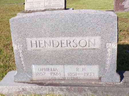 HENDERSON, OPHELIA - Calhoun County, Arkansas | OPHELIA HENDERSON - Arkansas Gravestone Photos